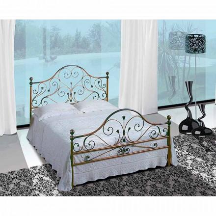 Manželská postel kované železné Phoenix