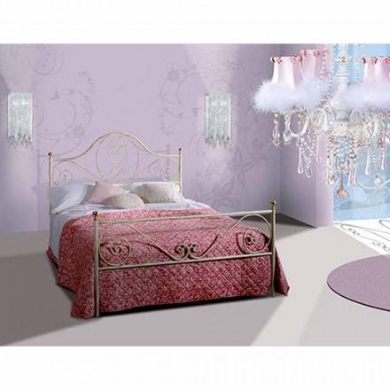 Manželská postel kované železné Gea
