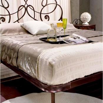 Manželská postel kované železné Granite
