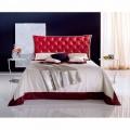 Manželská postel kované železné Hydra Capitonnè