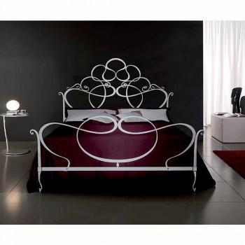 Manželská postel kované železné Malva