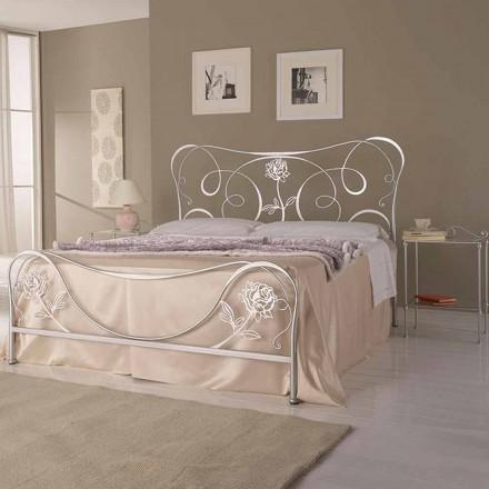 Manželská postel kované železné Nefertiti