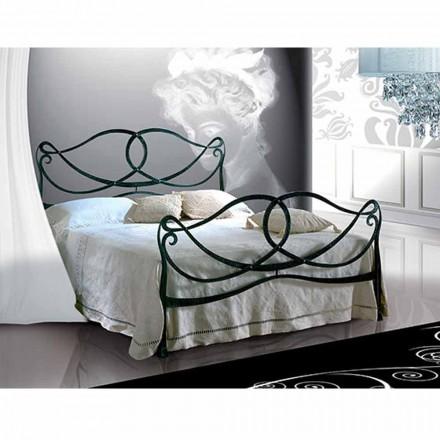 Manželská postel kované železné Orchid