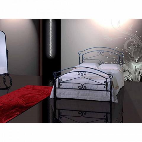 Manželská postel kované železné Orion