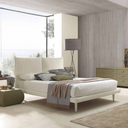 Moderní manželská postel, s tenkou základnou a bez krabice, Iorca by Bolzan