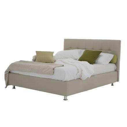 Luxusní moderní manželská postel s úložným boxem Made in Italy - Orfei