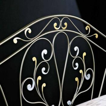 neoklasicistní dvoulůžko kované železo hand full Jessica