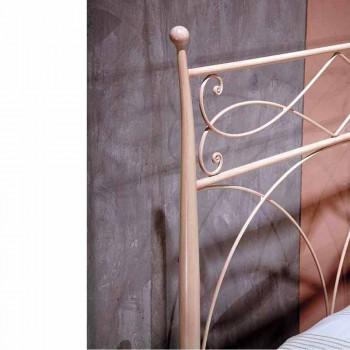 jednolůžko v kované železné ruky kované Ambra, made in Italy