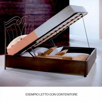 Jedno lůžko v kované železné Venuše