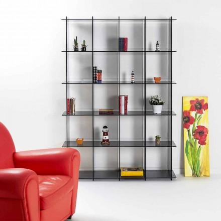 V Knihovny moderní design uzeným plexiskla Sfera4