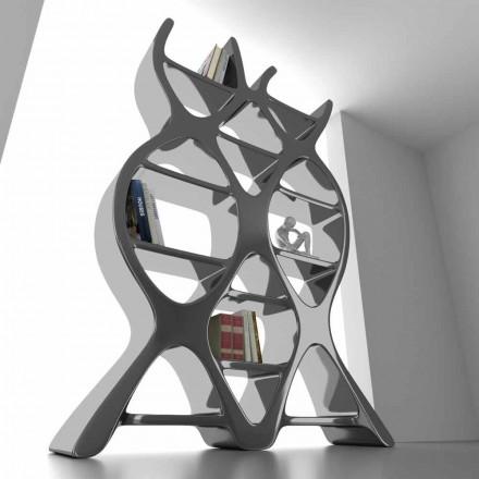 Moderní designová knihovna v Solid Surface DNA