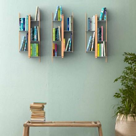 Knihovna moderní design by Zia Veronica Wall