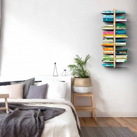 Knihovna moderní design stěna teta Bice