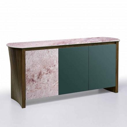 Luxusní příborník v Gresu se strukturou dřeva a MDF vyrobený v Itálii - Cunea