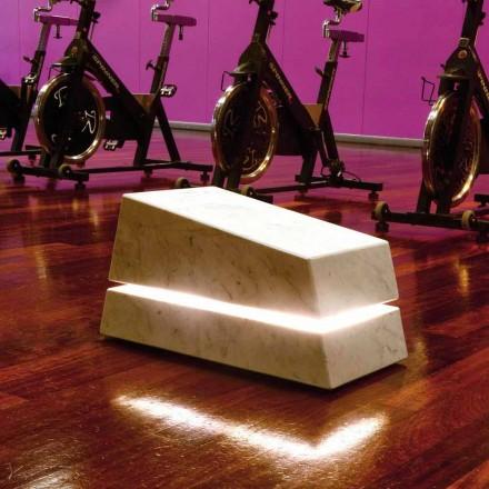 Kompletní svítící mramor zvukového difuzoru Minimal Sound