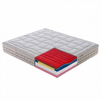 25 cm vysoce kvalitní paměťová matrace vyrobená v Itálii - platina