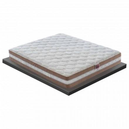 Vysoce kvalitní paměťová matrace vyrobená v Itálii - dřevěné uhlí