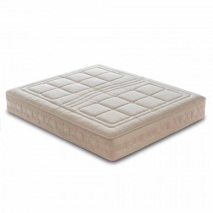 Jediná matrace H25 cm v luxusní paměti a 1600 pramenů vyrobených v Itálii - Řecko