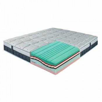 Jeden a půl matrace v paměti a uhlíku Resistex Made in Italy - Villa