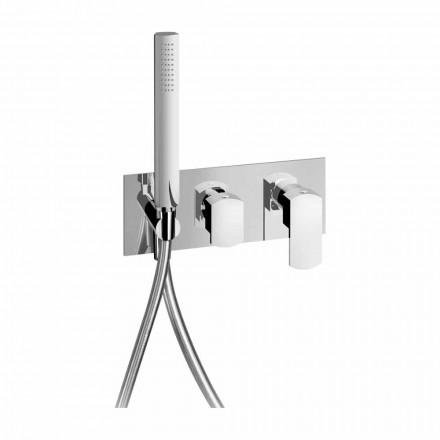 Moderní designová sprchová baterie z mosazi vyrobená v Itálii - Sika