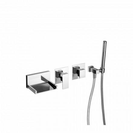 Vestavěná koupelnová baterie se sprchovou soupravou Made in Italy - Bibo