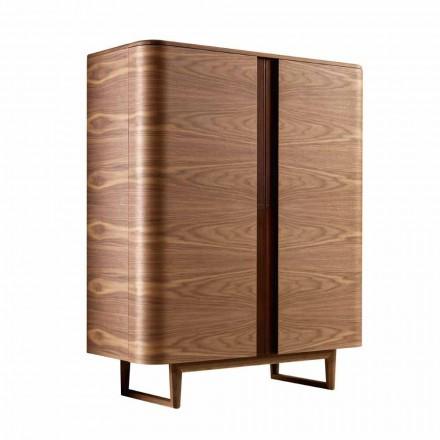 Návrhová skříňka z masivního dřeva York 2A Grilli vyrobená v Itálii