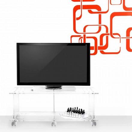 TV stolek moderní design plexisklo Magician