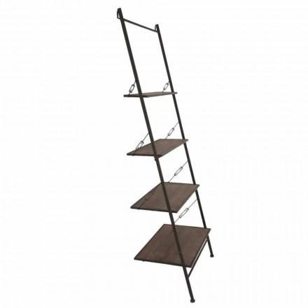 Moderní design Průmyslový styl Dřevěný a kovový kabinet - Denes