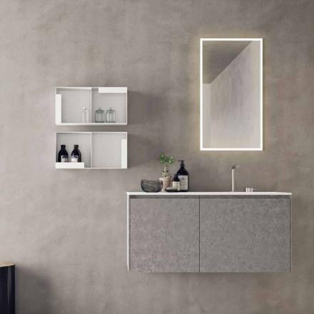 Zavěšený designový nábytek, složení moderní koupelny - Callisi9