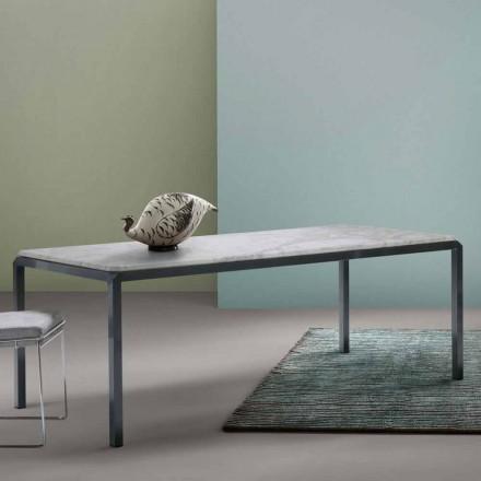 Designový stůl v bílém mýtě Bebop My Home vyrobený v Itálii