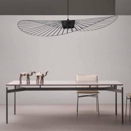 Designový stůl v lakovaném MDF My Home Dub vyrobený v Itálii