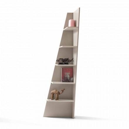 Můj domov Esquina lakované designové rohové knihovny z MDF vyrobené v Itálii