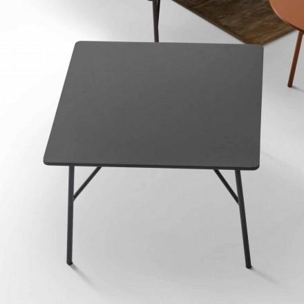 Konferenční stolek v antracitově šedém MDF s designem My Home Mek vyrobený v Itálii
