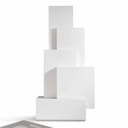 Mobilní MDF design obývací prostor kabinet My Home Tetris vyrobený v Itálii
