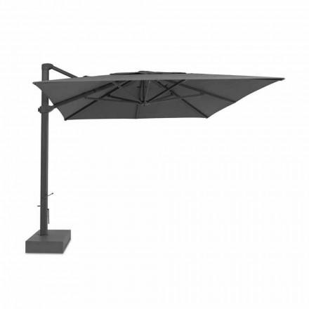 Venkovní deštník, 3x4 mt s luxusním textilním potahem - Athena od Talenti