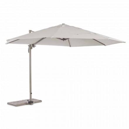 Venkovní deštník, průměr 3,5 m z polyesteru s hliníkovou tyčí - Linfa