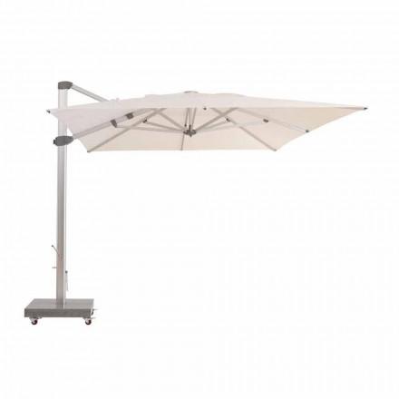 Venkovní deštník 3x4 s hliníkovým pólem odpuzující vodu - Zeus od Talenti