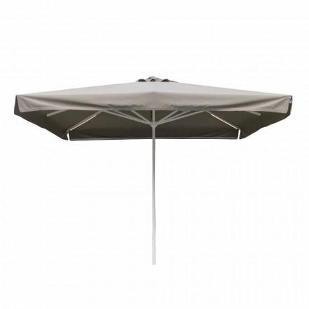 Venkovní látkový deštník s kovovou strukturou vyrobený v Itálii - Solero