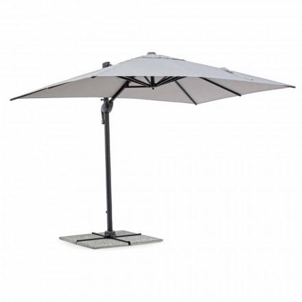 Zahradní deštník, 2x3 z polyesteru s antracitovou hliníkovou tyčí - Coby
