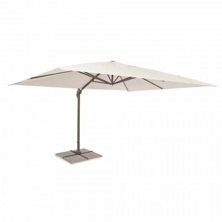 Zahradní deštník, 3x4 z polyesteru s hliníkovou strukturou - Texas