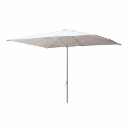 Zahradní deštník z akrylové látky a hliníku vyrobený v Itálii - Solero