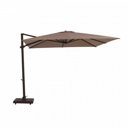 Zahradní deštník, 3x3 m z látky a oceli - Marte od Talenti