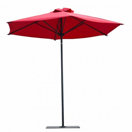 Luxusní látkový a hliníkový zahradní deštník vyrobený v Itálii - Meridio