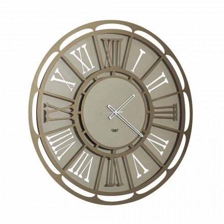Moderní železné nástěnné hodiny vyrobené v Itálii - Classicone