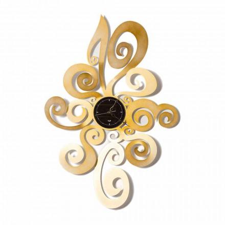 Moderní design železné nástěnné hodiny vyrobené v Itálii - Noel