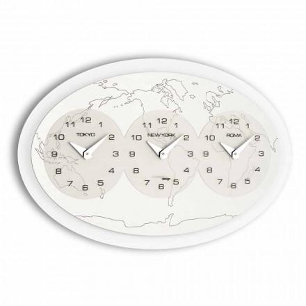 Moderní nástěnné hodiny Zed Big