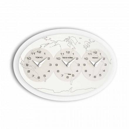 designer nástěnné hodiny Model Zed