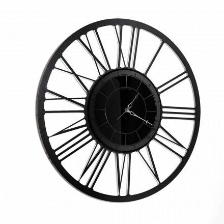 Moderní design železné zrcadlové nástěnné hodiny vyrobené v Itálii - Gioele
