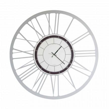 Velké moderní moderní nástěnné hodiny vyrobené v Itálii - Einar