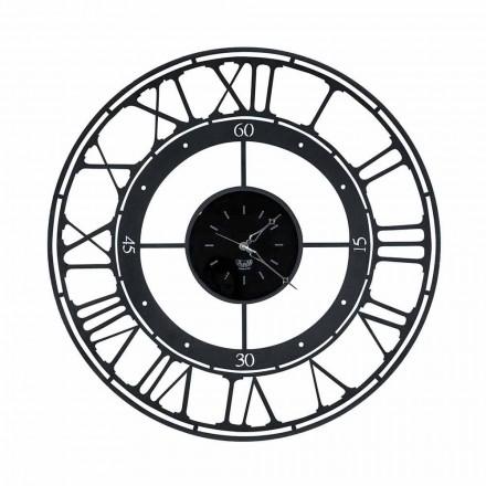 Klasický styl nástěnné hodiny v barevné železo vyrobené v Itálii - barva